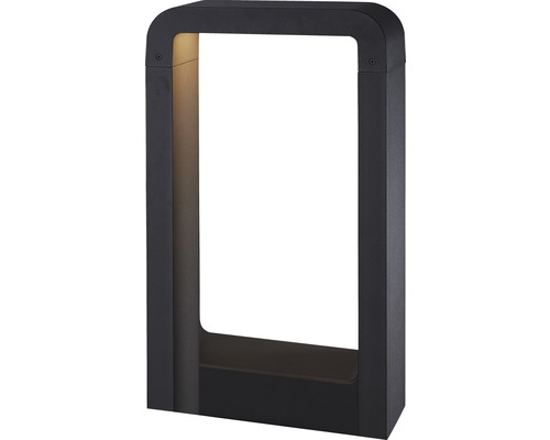 FLAIR LED Wegeleuchte 10,5W 600 lm 3000 K warmweiß Taygeta schwarz H 500 mm