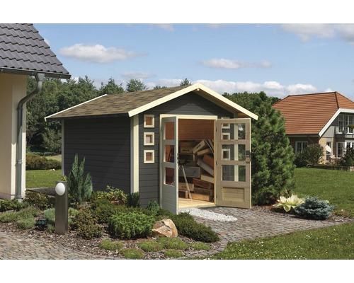Gartenhaus Konsta Duttweiler 6 274 x 274 cm terragrau