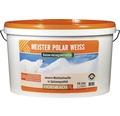 Wandfarbe Meister Polarweiß konservierungsmittelfrei 15 l
