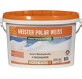 Wandfarbe Meister Polarweiß konservierungsmittelfrei 2,5 l