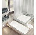 Duscheinlage Kleine Wolke Arosa 55 x 55 cm weiß
