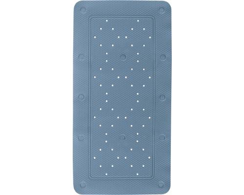 Badewanneneinlage Set Kleine Wolke Calypso 2-teilig blau 72 x 36 cm mit Nackenkissen