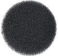 Filterschwamm grob rund schwarz
