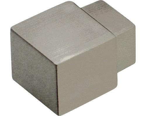 Aussenecke Dural Squareline Alu Titan Hochglanz 10 mm Inhalt 2 Stück