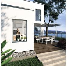 Insektenschutz-Rollo-Fenster PLUS weiss 100x160 cm