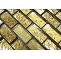 Glasmosaik XCM 8GO35 gold 30x30 cm