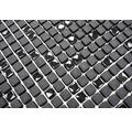 Glasmosaik CUBA 01B schwarz 30,5x30,5 cm