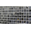 Glasmosaik XCM 8LU89 schwarz 29,8x29,8 cm