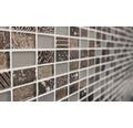 Glasmosaik XCM CRS6 mix braun 30x30 cm