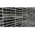 Glasmosaik XCM ST NB schwarz 29,8x30,4 cm