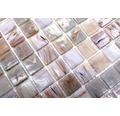 Glasmosaik GM GSL 510 30,5x32,7 cm beige