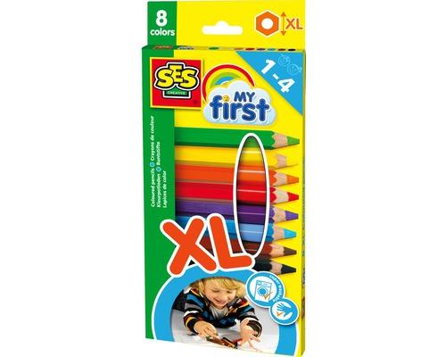 Dicke Buntstifte XL My first 8er-Set
