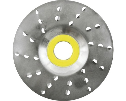 Rotoraspel Ø 125x22,2 mm 6,0mm sehr grobe Schneide