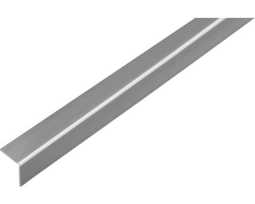 Winkelprofil Kunststoff Edelstahloptik selbstklebend 20x20x1,5 mm, 1 m