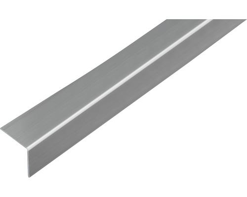 Winkelprofil Kunststoff Edelstahloptik selbstklebend 30x30x1,5 mm, 2,6 m