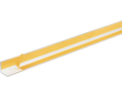 Winkelprofil Alu silber eloxiert selbstklebend 20x20x1,5 mm, 1 m