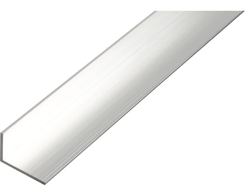 Winkelprofil Alu natur 20x10x1,5 mm, 1 m