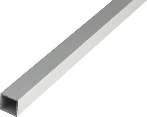 Vierkantrohr Alu silber eloxiert 40x40x2 mm, 2 m