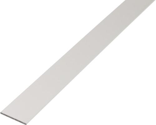 Flachstange Alu silber eloxiert, 50x3 mm, 2,6 m