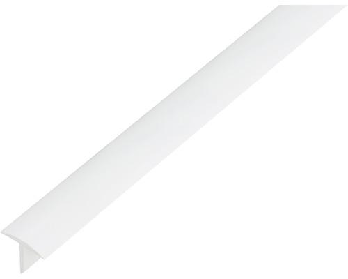 T-Profil Kunststoff weiß 25x18x2 mm, 2,6 m