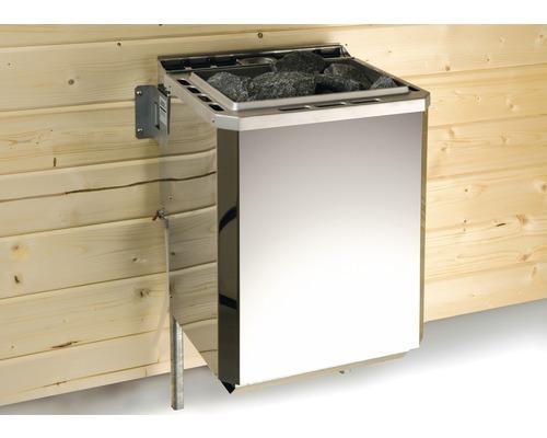 Sauna-Dampfbad-Kombiofen Weka 9 kW ohne Steuerung