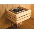 Sauna Ofenschutzgitter Weka 60x48 cm aus Holz