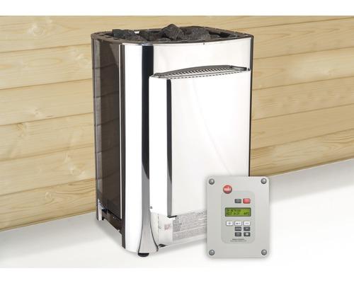 Saunaofen Weka OS Profiset 11 kW mit digitaler Kombi-Steuerung