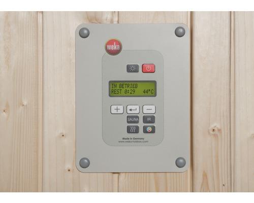 Saunaofen-Set Weka OS 9 kW mit digitaler Kombi-Steuerung