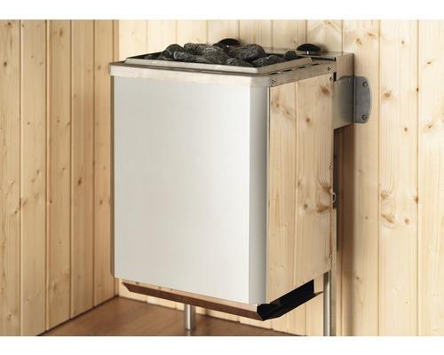 Saunaofen Weka 5,4 kW mit intergr. Steuerung