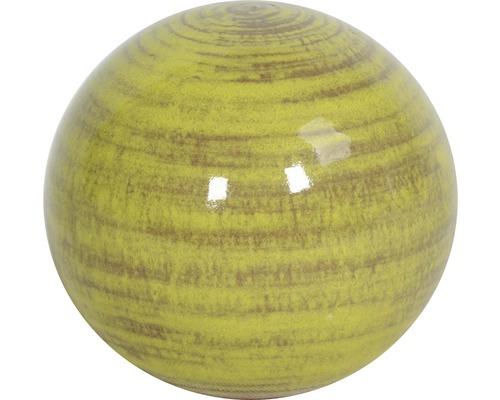 Dekokugel Lafiora Keramik Ø 27 cm grün