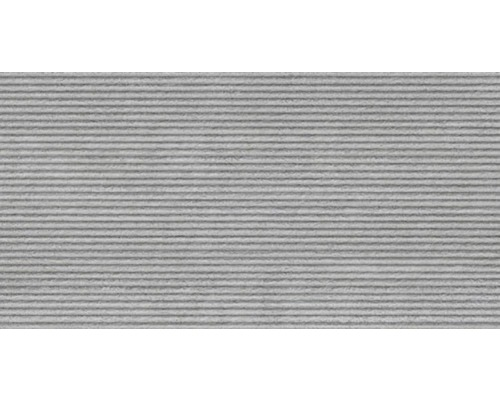 Feinsteinzeug Dekorfliese District Gris 32 x 62,5 cm
