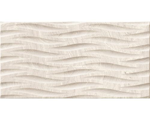 Feinsteinzeug Dekorfliese Varana Almond 45 x 90 cm