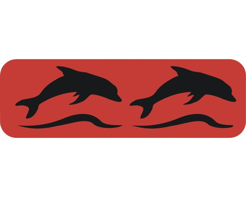 Dekorschablone Bordüre Delphine