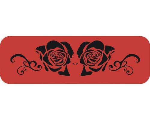 Dekorschablone Bordüre Rosen