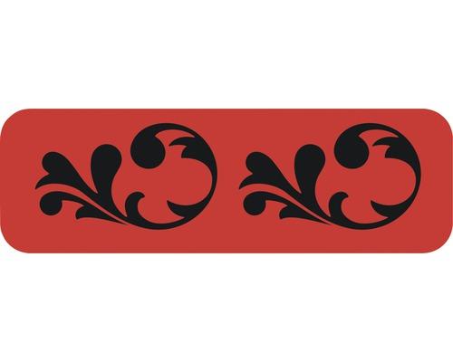 Dekorschablone Bordüre Ranke 44 x 14 cm