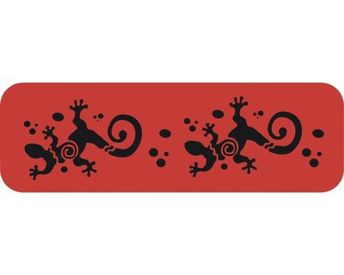 Dekorschablone Bordüre Gecko 44 x 14 cm