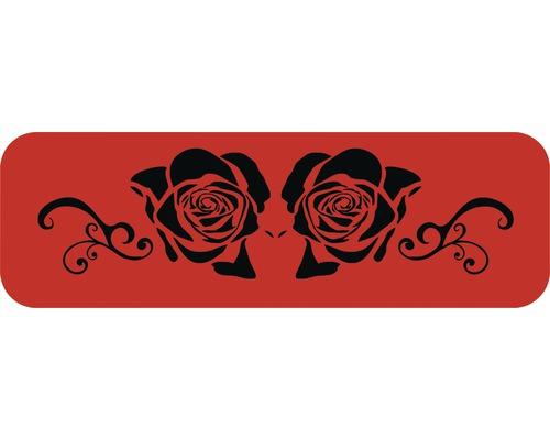 Dekorschablone Rosen 56 x 43 cm