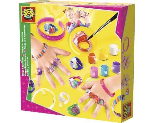 Kreativset Ringe und Armbänder gestalten 13-teilig