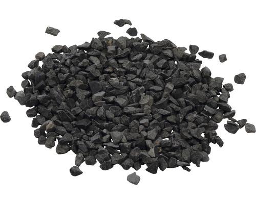 Marmorsplitt schwarz 8-16mm, 25kg