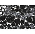 Keramikmosaik XKM 890 28x28 cm mix schwarz