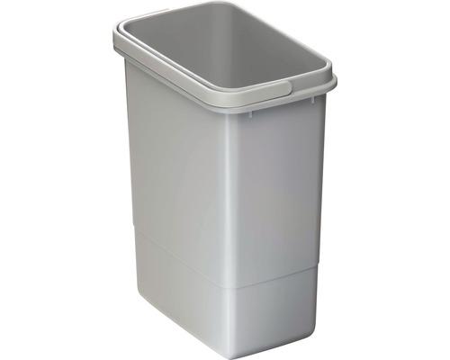 Mülleimer aus Kunststoff 7 Liter grau