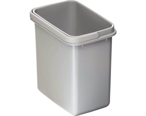 Mülleimer aus Kunststoff 5 Liter grau