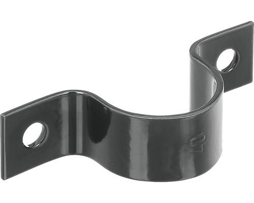 Rohrschelle GAH Alberts für Pfosten ⌀ 38 mm anthrazit