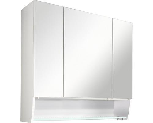 Spiegelschrank Sceno FACKELMANN weiß 3 Türen IP 20