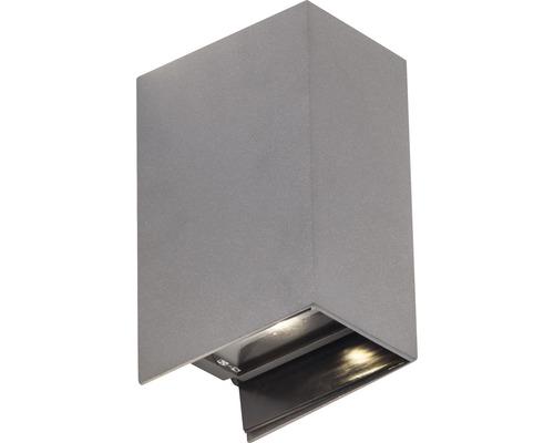 LED Außenwandleuchte 2x3W 2x250 lm 3000 K warmweiß H 171,5 mm Adapt anthrazit