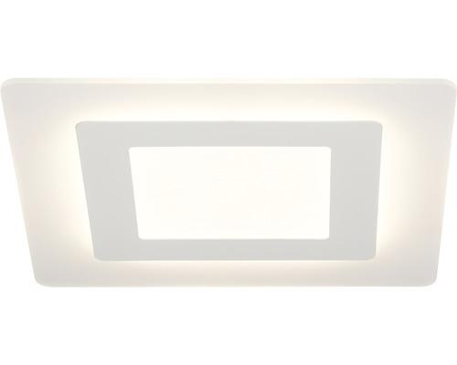 LED Deckenleuchte dimmbar 30W 3000 lm 3000 K warmweiß 350x350 mm Xenos weiß