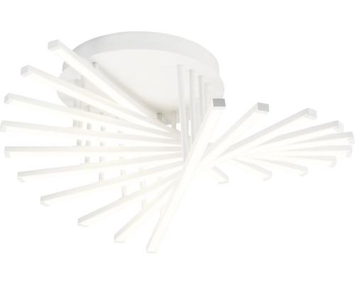 LED Deckenleuchte dimmbar 60W 6000 lm 3000 K warmweiß Ø 610 mm Cyrus weiß