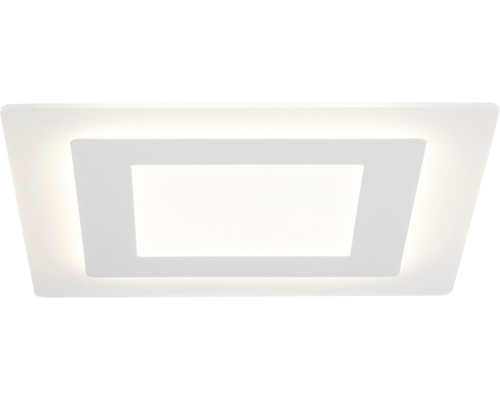 LED Deckenleuchte dimmbar 46W 4600 lm 3000 K warmweiß 480x480 mm Xenos weiß