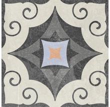 Feinsteinzeug Dekorfliese Heidelberg Dekor 14 18,6 x 18,6 cm