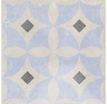 Feinsteinzeug Dekorfliese Heidelberg Dekor 1 18,6 x 18,6 cm